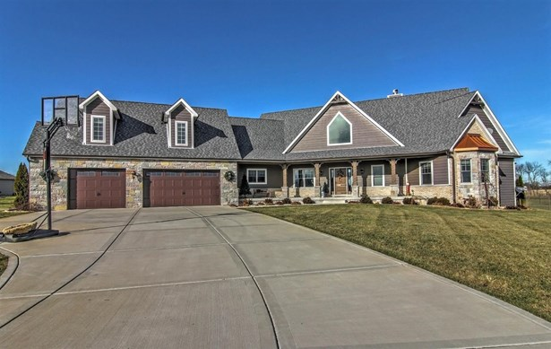 Ranch/1 Sty/Bungalow, Single Family Detach - Cedar Lake, IN