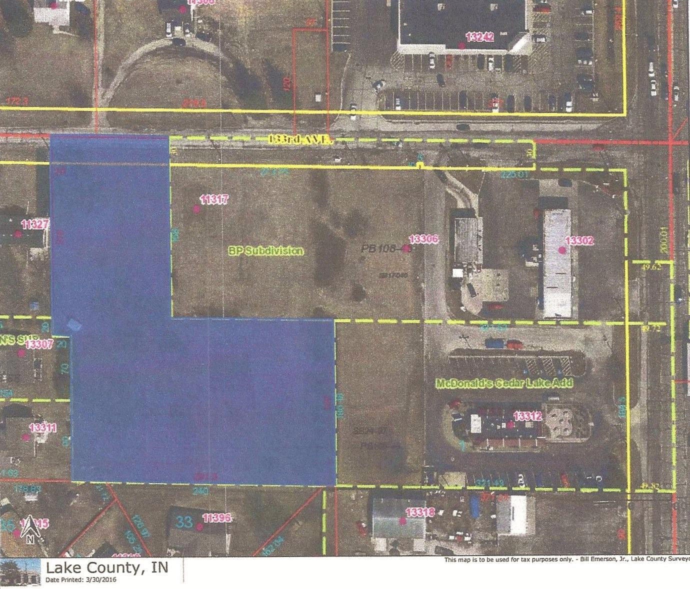 Vacant Land/Acreage - Cedar Lake, IN (photo 1)