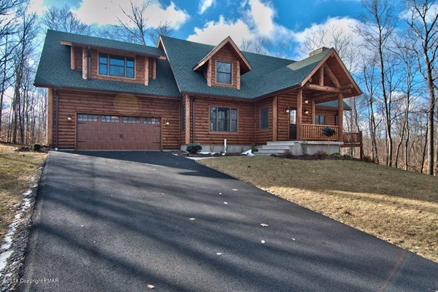 Log Home,Traditional, New Construction - Roaring Brook Twp, PA (photo 1)