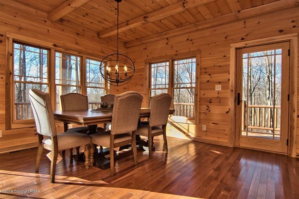 Log Home,Traditional, New Construction - Roaring Brook Twp, PA (photo 4)