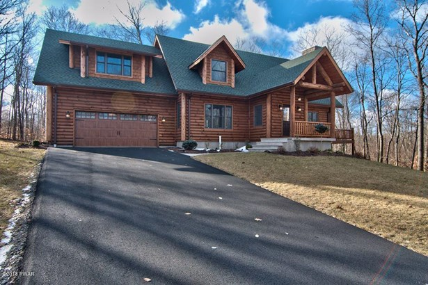 Log Home,Traditional, New Construction - Roaring Brook Township, PA (photo 1)