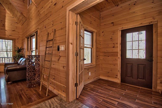 Log Home,Traditional, New Construction - Roaring Brook Township, PA (photo 2)
