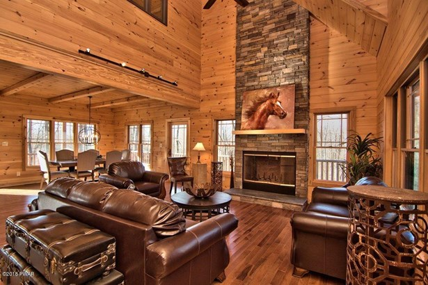 Log Home,Traditional, New Construction - Roaring Brook Township, PA (photo 3)