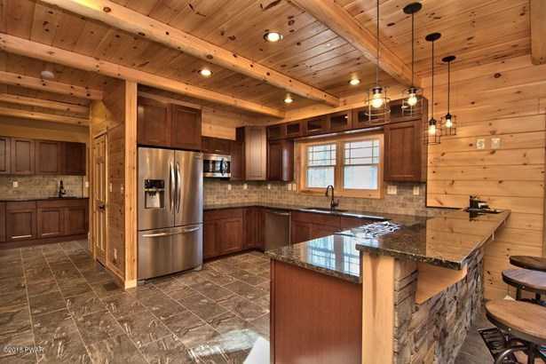 Log Home,Traditional, New Construction - Roaring Brook Township, PA (photo 5)