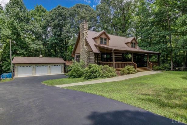 Single Family Residence, Log - Evington, VA (photo 1)