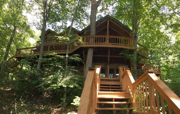 2 Story Basement,Residential, Cabin,Log - Sharps Chapel, TN (photo 2)