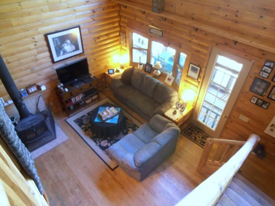 Living room from loft (photo 2)