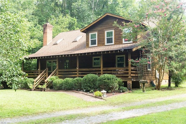 Detached,Detached Residential, Log Home - Newsoms, VA