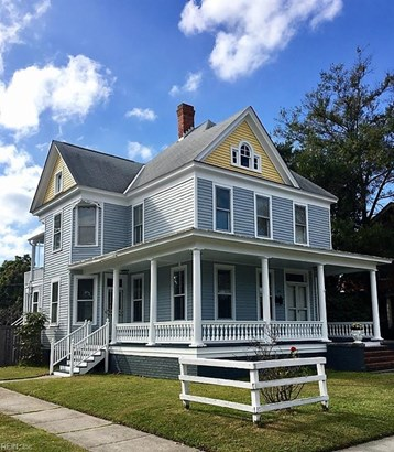 Converted S.F.,Over/Under, Duplex,Multi Family Residential - Portsmouth, VA (photo 1)