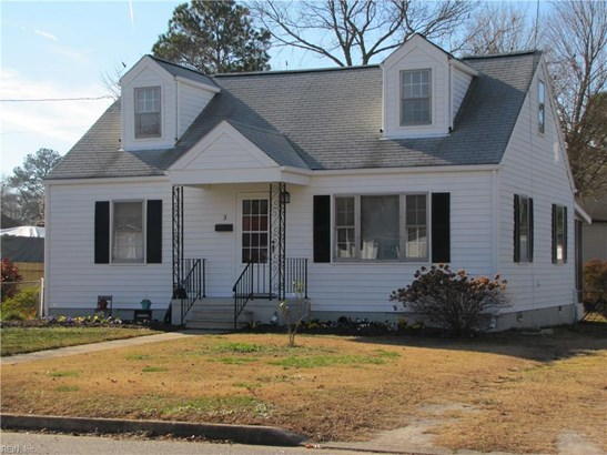 Cape Cod, Rental,Single Family - Newport News, VA (photo 1)