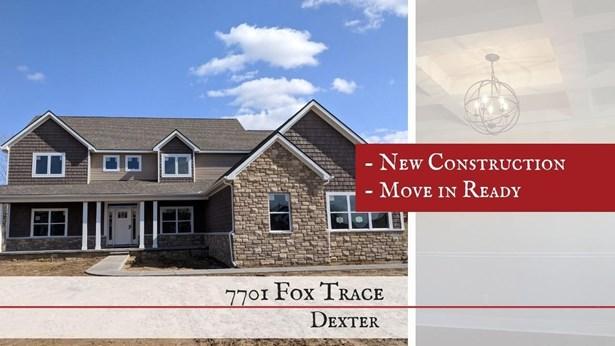 7701 Fox Trace Road, Dexter, MI - USA (photo 1)