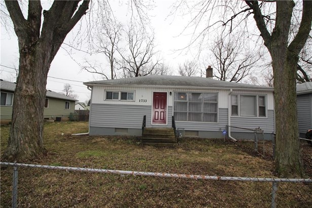 1733 South Dequincy Street, Indianapolis, IN - USA (photo 1)