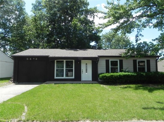 5422 Chisolm Trail, Indianapolis, IN - USA (photo 1)