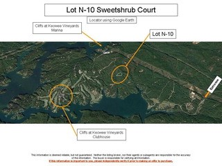 Lot N-10 Sweetshrub Court, Sunset, SC - USA (photo 2)