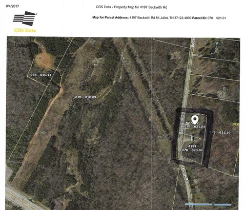 4197 Beckwith Rd. An additional one acre lot is available for purchase at 4199 Beckwith. (photo 2)
