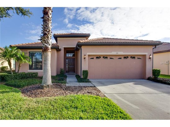 Single Family Home, Contemporary - APOLLO BEACH, FL (photo 1)