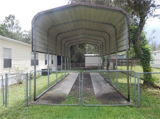 Manufactured/Mobile Home, Patio - PAISLEY, FL (photo 5)