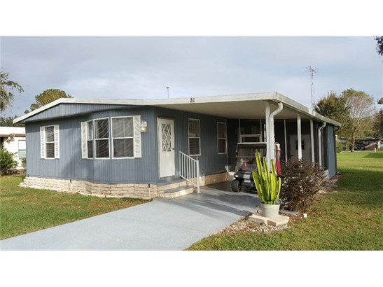 Manufactured/Mobile Home - WILDWOOD, FL (photo 1)