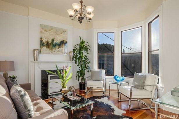 Flats,Apartments,3 Story,2 Units, Edwardian - San Francisco, CA (photo 3)