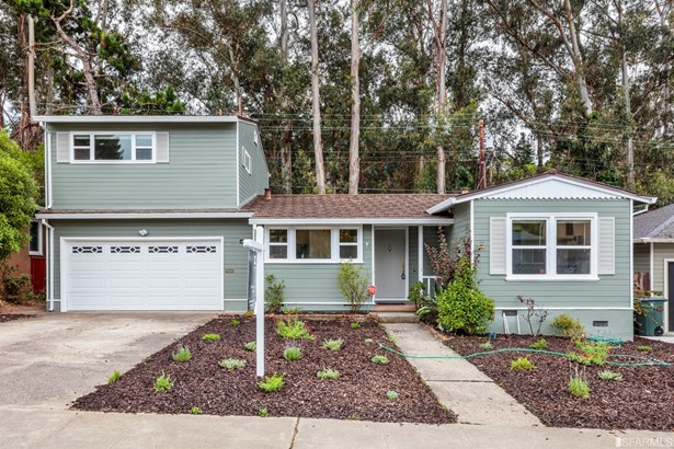 Detached,2 Story,Single-family Homes - San Mateo, CA