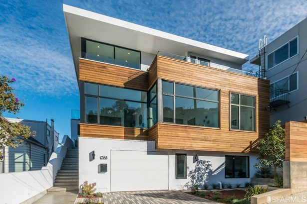 Detached,Single-family Homes, Contemporary,Modern/High Tech - San Francisco, CA (photo 2)