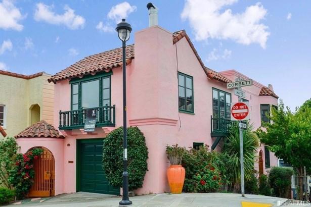 Contemporary,Spanish/Med,Marina, Duplex,3 Story,2 Units - San Francisco, CA (photo 1)