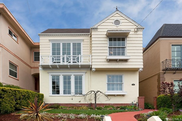 Traditional, Full,Detached,2 Story,Single-family Homes - San Francisco, CA (photo 1)