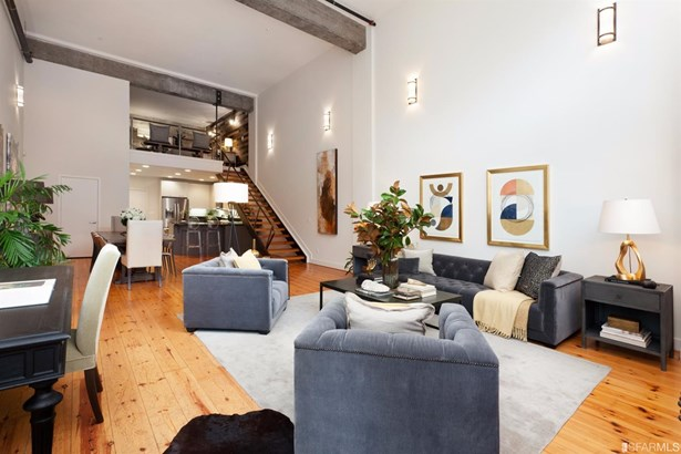Contemporary,Modern/High Tech,Conversion, Loft Condominium - San Francisco, CA (photo 1)