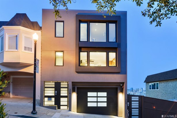 Modern/High Tech, Single-family Homes - San Francisco, CA (photo 4)