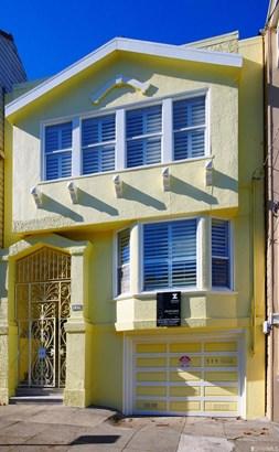 Edwardian, Full,2 Story,Single-family Homes - San Francisco, CA (photo 1)