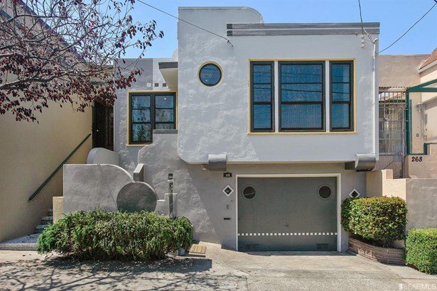 Art Deco, Full,2 Story,Single-family Homes - San Francisco, CA (photo 1)