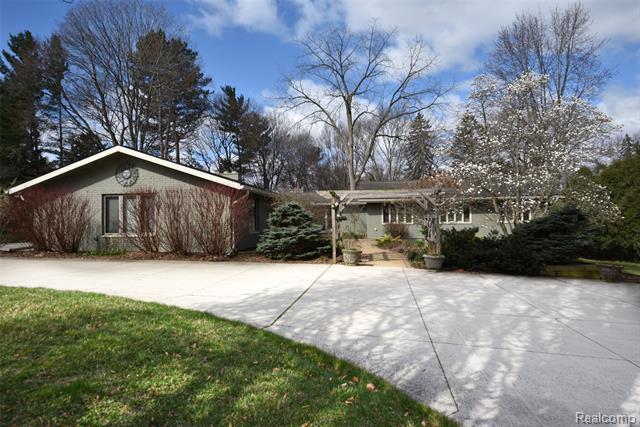 Contemporary,Ranch - Bloomfield Hills, MI