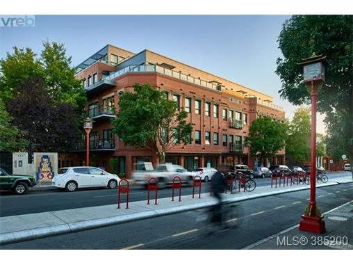 403 595 Pandora Ave, Victoria, BC - CAN (photo 1)
