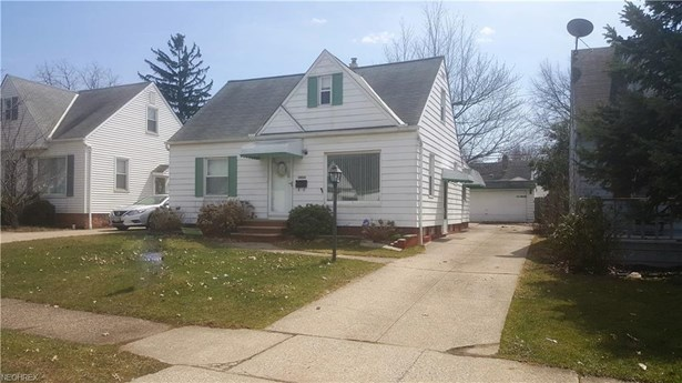 Cape Cod, Single Family - Maple Heights, OH (photo 1)