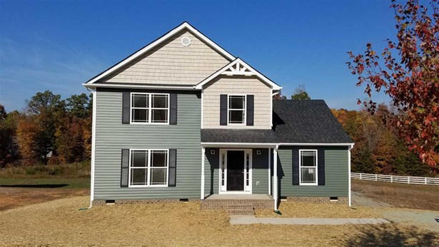 Proposed Detached, Colonial - TROY, VA