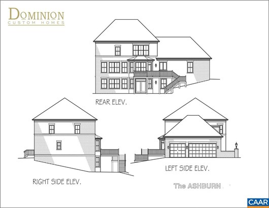 Proposed Detached, Georgian - CHARLOTTESVILLE, VA (photo 2)