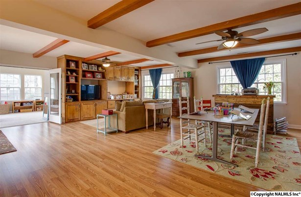 Kitchen has center island and great pantry space with large eat in area. (photo 3)