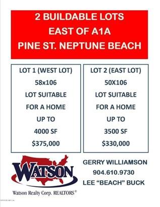 0 Pine , Neptune Beach, FL - USA (photo 2)