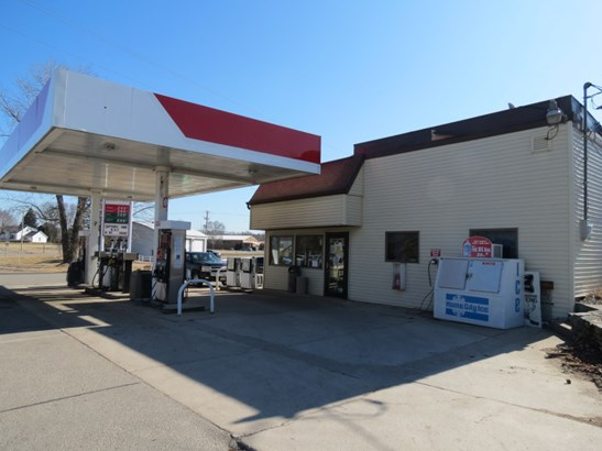GAS STATION WITH STORE