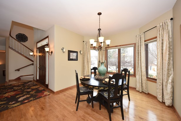 Charming Curved Dining Room (photo 3)