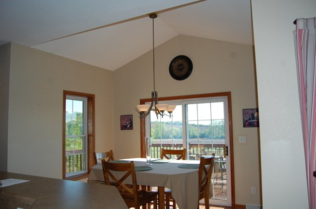 Vaulted dining area (photo 5)
