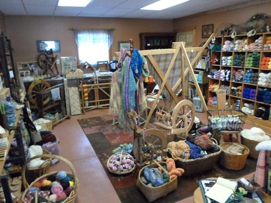 Shop inside pole barn (photo 3)
