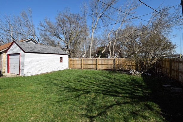 Backyard with garage view (photo 5)
