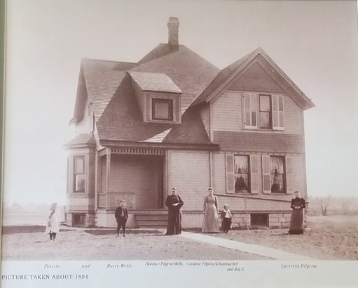Front of home approx 1894 (photo 2)