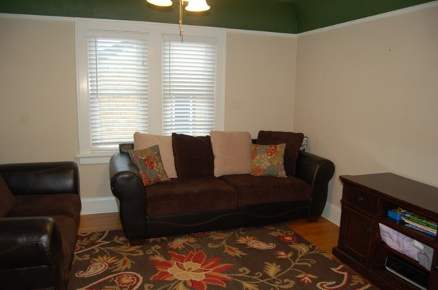 living room with HWF (photo 3)