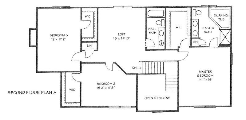 Second Floor Plan (photo 3)