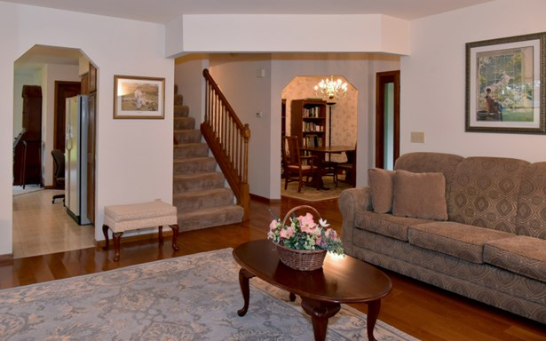 Living Room with HWF (photo 4)