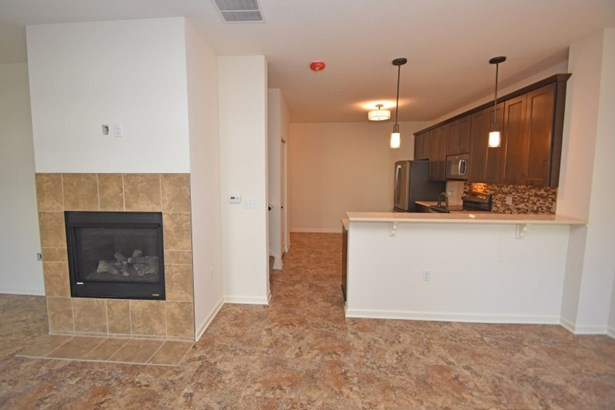 Kitchen and Fireplace (photo 3)