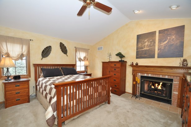 Master Bedroom w/fireplace (photo 4)