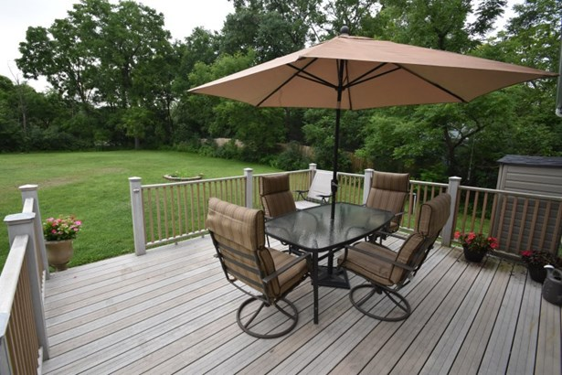 Deck and Backyard (photo 2)
